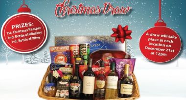 Christmas Hamper Draw Winners 2018