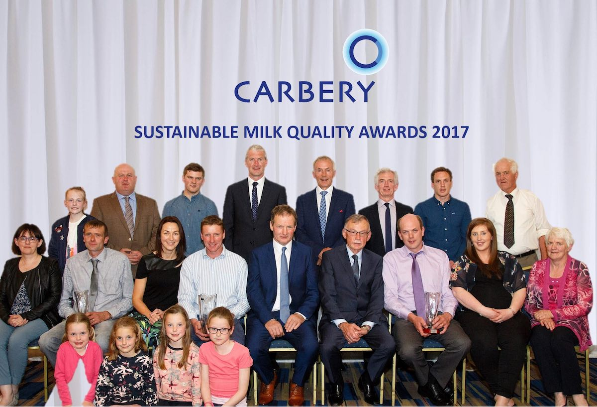 Drinagh Group at Carbery Milk Quality Awards